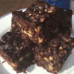 Chocolate Chip and Walnut Brownies